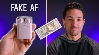 $50 AirPod Clones vs $160 Apple AirPods!