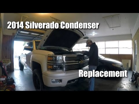 2014 Silverado AC Condenser (How to replace)