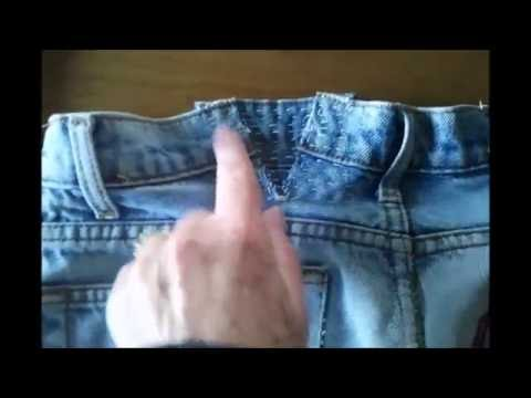 Expand the Waistband of Your Jeans without a Sewing Machine