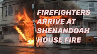 PRE-ARRIVAL: 2nd Alarm House Fire - Shenandoah, PA - 01/18/2017