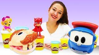 Download Видео про игрушки из мультфильмов. Куклы и машинки в гостях! Video