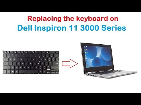 How to Replace the Keyboard on Dell Inspiron 11 3000 Series
