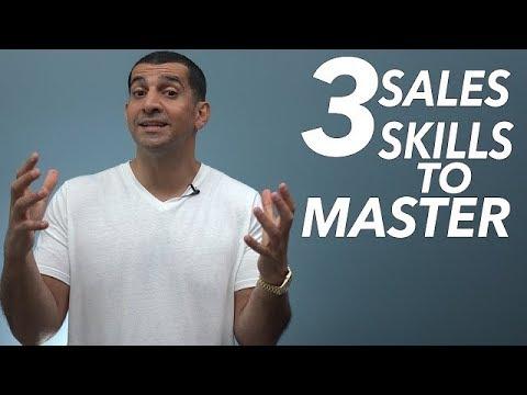 3 Sales Skills to Master