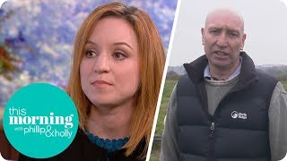 PETA Activist Irritates Farmer by Claiming That Wearing Wool Is Cruel | This Morning