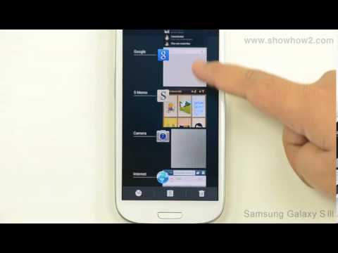 Samsung Galaxy S3 - How to Close All Running Apps