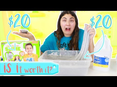 $20 SLIME SUPPLIES VS $20 SLIME KIT ~ WHICH ONE IS BETTER? Slimeatory #382
