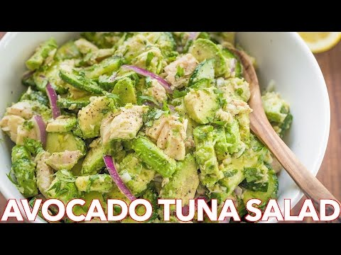 Salads: Avocado Tuna Salad Recipe - Natasha's Kitchen