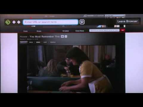 Playing back shows and movies on Boxee