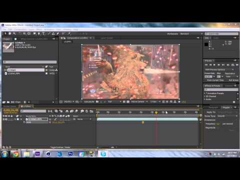 How To Trim And Render In HD In After Effects CS6