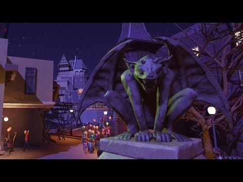 da scare zone - planet coaster - PlanCo CityWalk