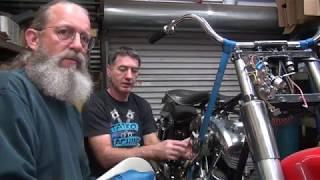 108 1964 xl ironhead chopper rigid father son repair harley