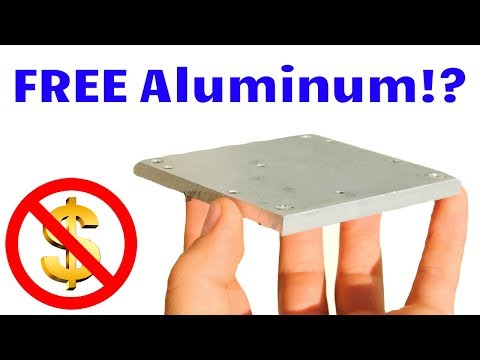 Where to Find THICK Aluminum Plate for FREE! (for DIY projects or scrapping)