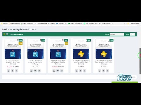 How to Buy Playsation Giftcard PSN Card in Pakistan with Jazzcash easypaisa 2018