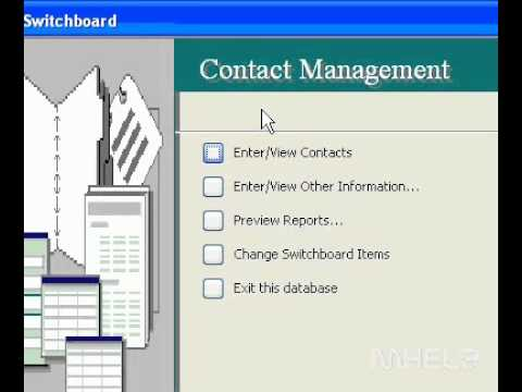 Microsoft Office Access 2003 Find a file from the Open dialog box