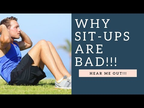 Why Sit Ups Are A BAD Exercise (Hear Me Out!)