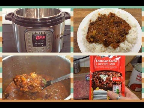 Instant Pot Chilli Con Carne Pressure Cooker Recipe