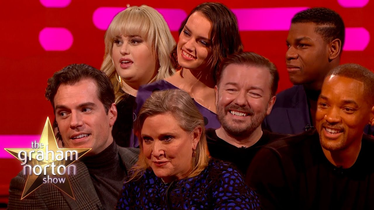 The Best Christmas Moments On The Graham Norton Show | Part One