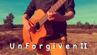 METALLICA - The Unforgiven II (Acoustic) - Classical Fingerstyle guitar by Thomas Zwijsen