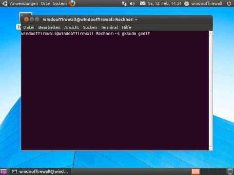 Computername unter Ubuntu Linux ändern