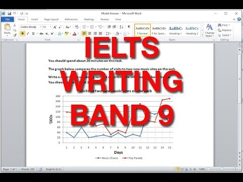 How to Describe a Line Graph for IELTS Writing Task 1