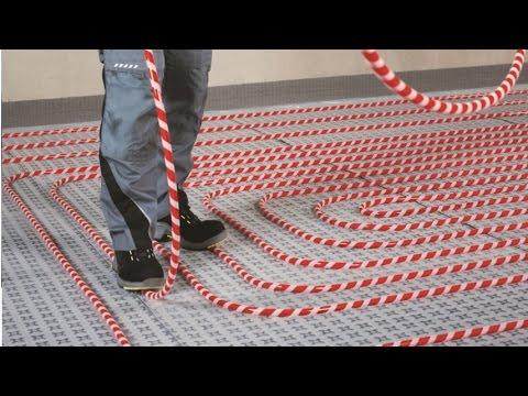 RAUPEX SPEED Radiant Heating Fastening System - How to Install Radiant Heating Faster - No Bending