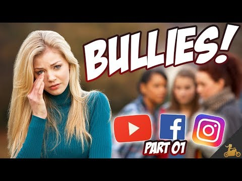 Ms. Blockhead Deals w/ BULLIES! (YouTube Probs!)