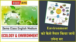 Environment & Ecology lecture  1 GS Foundation English, 04 November 2019