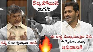AP CM YS Jagan Strong Warning to Chandrababu Naidu | AP Assembly Sessions 2019 | Political Qube