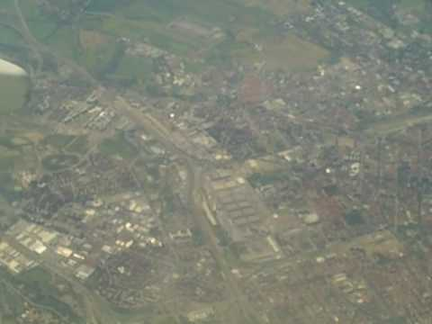 Milan-Milano-Mailand (from the aircraft) and Linate
