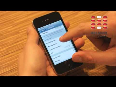 Apple iPhone 4 (iOS 4) Sim pincode aanpassen