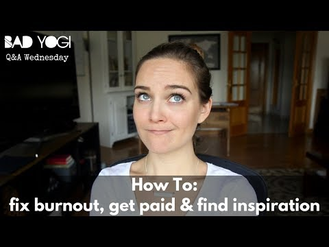 Yoga Teacher Struggles: How to fix burnout, get paid, & find inspiration (Q&A)