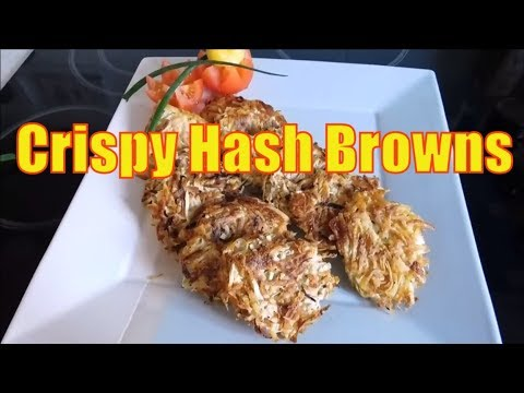 How TO MAKE The Best CRISPY HASH BROWNS recipe at home SUPER CRISPY HOMEMADE  Easy 🍟🍴🍟🍠