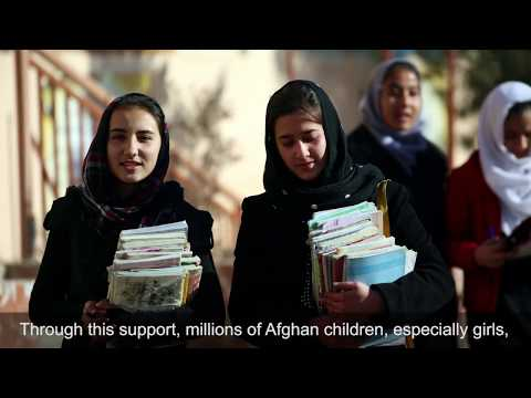 Our Commitment to Help Build a Better Future for Afghanistan