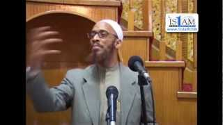 Why the Sahabah did not Look at Men Without the Beard...FUNNY Sh. Khalid Yasin...