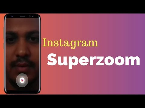 How To Use Instagram's New Superzoom- New Update