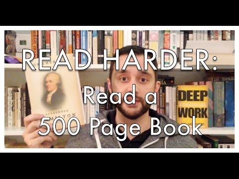 Read Harder Challenge 2016: Read a 500 Page Book