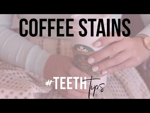 Teeth Tips - Coffee Stains
