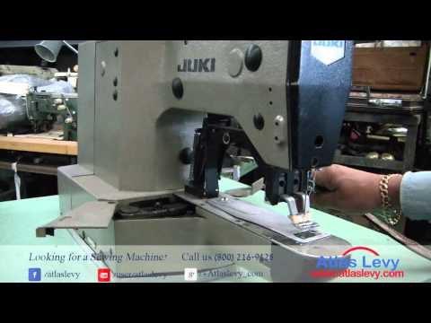 Juki LK 1852 Heavy Duty Industrial Bar Tacker Sewing Machine