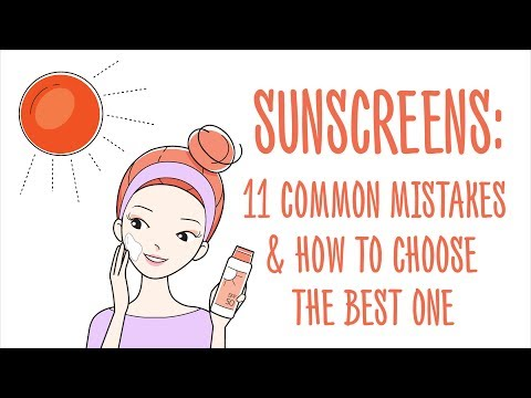 11 Common Mistakes About Sunscreen And How To Choose The Best One