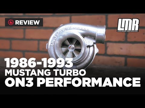 1986-1993 Fox Body Mustang On3 Performance Single Turbo Kit - Review (5.0L)