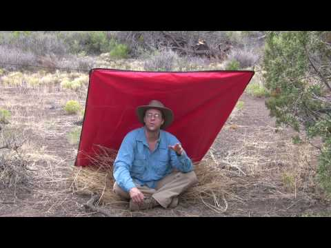 Desert Survival Tarp Shelter with Tony Nester