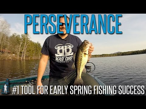 Early Spring Bass Fishing is TOUGH