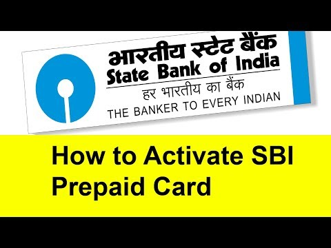 How to Activate SBI Prepaid Card | Tamil Banking
