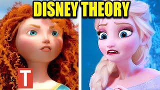 Download This Is How Brave Is Connected To Frozen (Disney Theory) Video