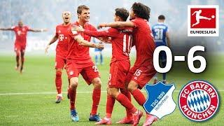 TSG Hoffenheim vs. FC Bayern München I 0-6 I Coutinho Brace in Bayern's Goalfest