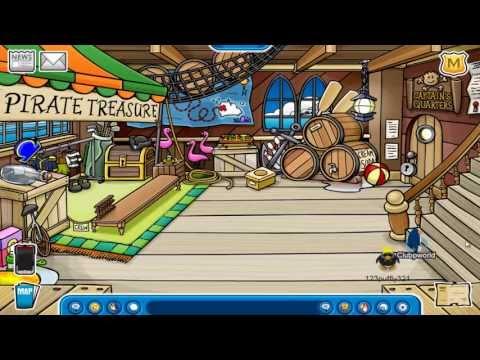 Club Penguin- Rockhopper has Arrived!