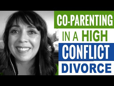 Co-Parenting in a High Conflict or Toxic Relationship