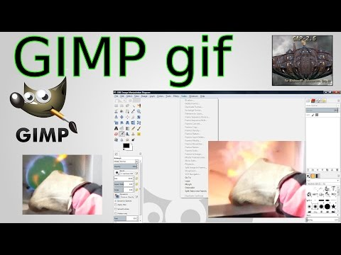 GIMP gif Tutorial - and how to install GAP (GIMP Animation Package)