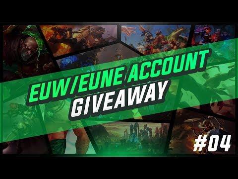 League of Legends 10 FREE EUW / EUNE Accounts | Account Giveaway!