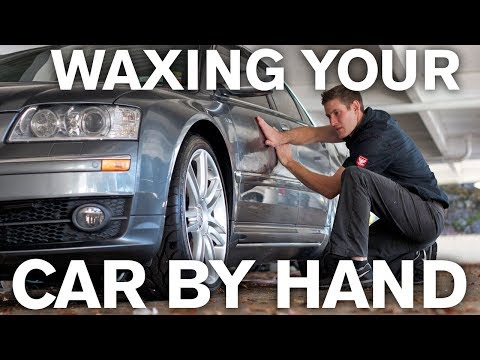 How to Wax a Car With Your Bare Hands